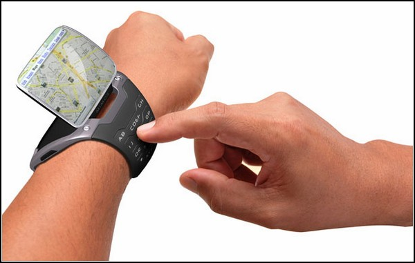 Часы-смартфон WristPC: возвращение браслетных гаджетов