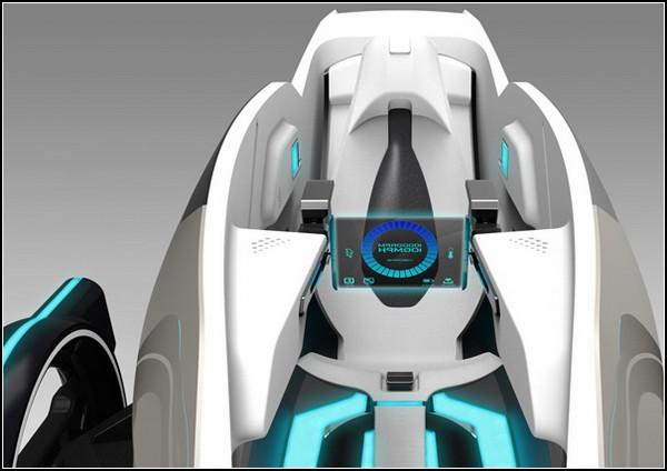 Начинка автомобиля будущего XSCAPE