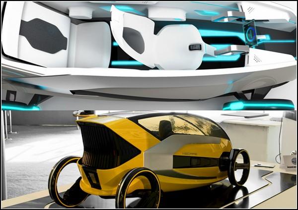 Концепт-кар XSCAPE: автомобиль будущего