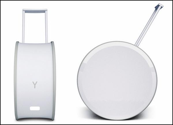 Мобильный аккумулятор в виде чемодана на колесиках