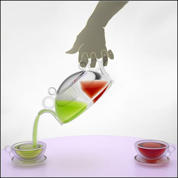 Лучший чайник для влюбленных: Инь-Янь