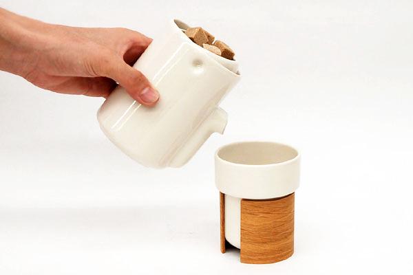 молочник NEWTON и чашка WARM от tonfisk