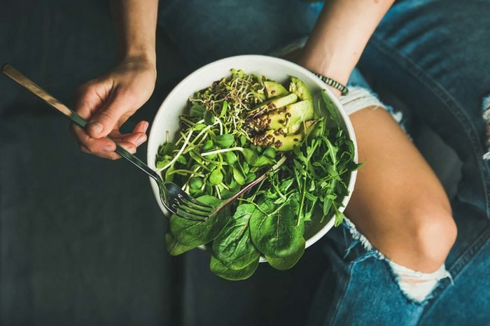 Самый полезный салат.