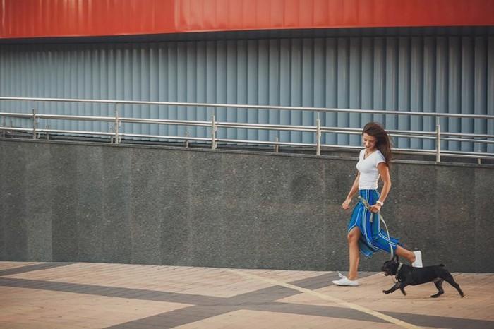 Гулять – это всегда полезно. Даже для глаз.