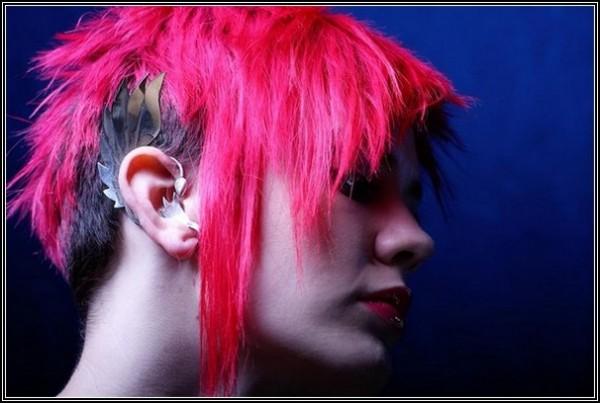 Пернатые уши эльфа от Duncan Stevens