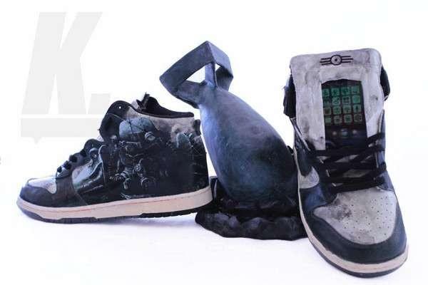 Игровые кроссовки от Джейкоба Паттерсона (Jacob Patterson)