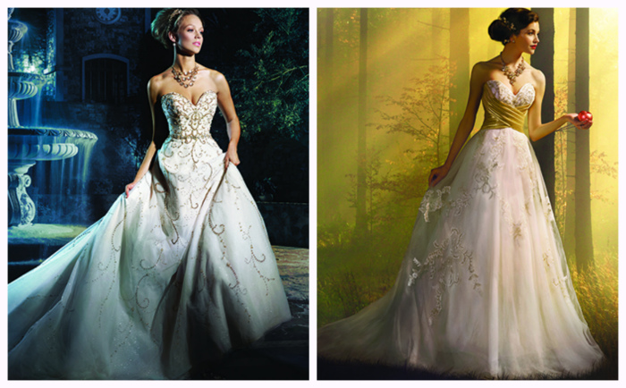 Шикарные свадебные платья от Аlfred Аngelo имени принцесс Disney