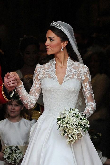 A mais bela das famosas noivas de 2011