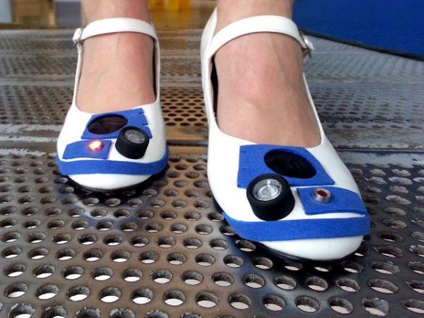 «Звездные» туфли от Майка Уоррена