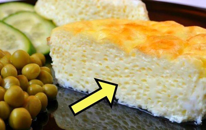«Секретный» ингредиент для пышного и красивого омлета.