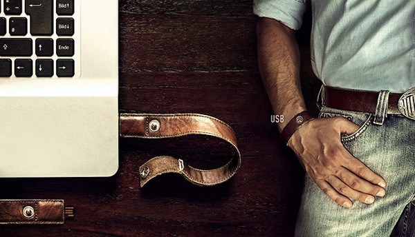 USB-носитель в браслете