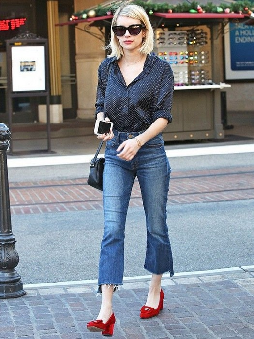 Как сделать старые джинсы модными фото 498