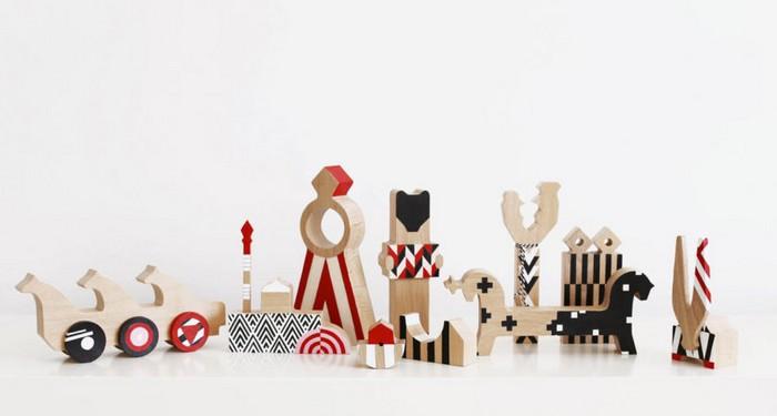 «Красные куклы» - коллекция очень русских игрушек из дерева от питерской студии 52 FACTORY