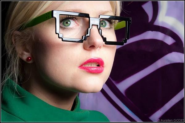 Прикольные очки в ретро-стиле от Дмитрия Самала