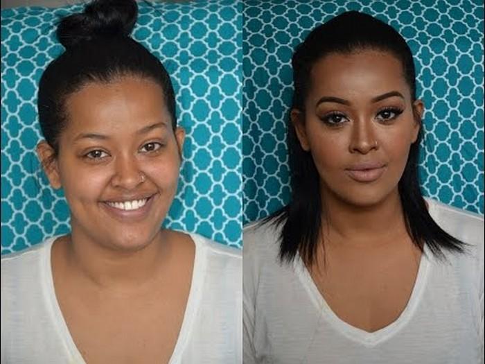 10 шокирующих видео-доказательств того, что макияж – страшная сила
