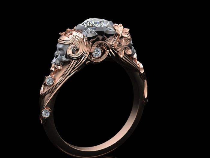 «Не такие» обручальные кольца для рок-принцесс и их принцев