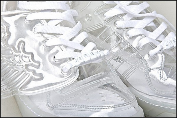 Прозрачные Adidas Wings by Jeremy Scott