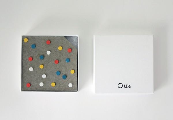 Магнитные конфетти в качестве сережек