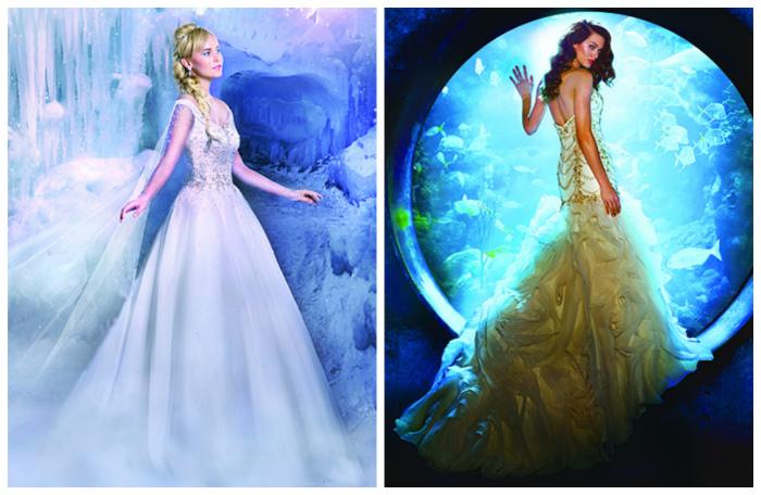 Диснея принцессы бальном платье