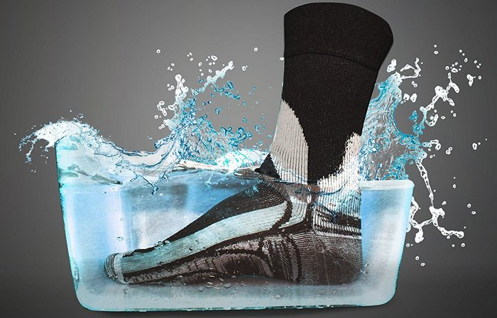 Носки со 100% защиты от влаги