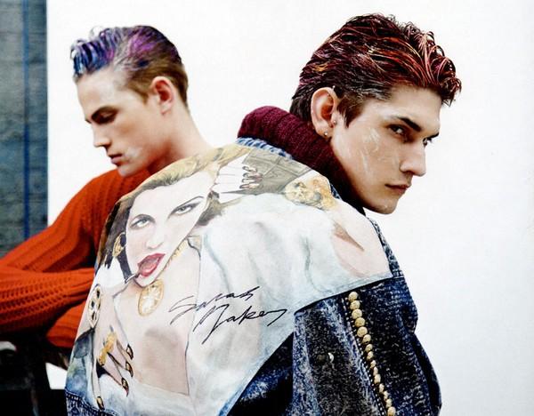Смелые мужские куртки, созданные специально для проекта журнала Attitude