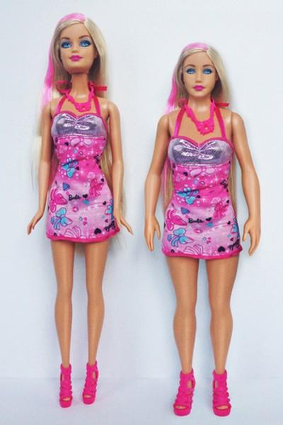 Новая Барби, похожая на настоящую женщину