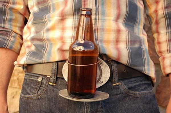 Портативная подставка для хмельного напитка Beer Buckle