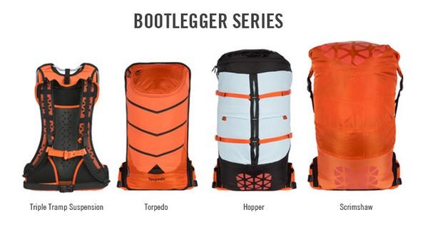 Bootlegger  - идеальный рюкзак для активного  образа жизни