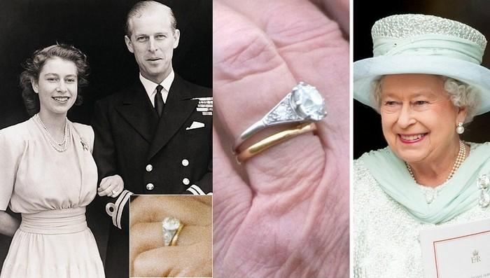 Елизавета II не снимает обручальное кольцо вот уже целых 70 лет.