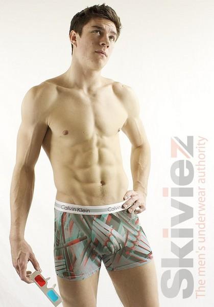 «Трёхмерное» мужское бельё от Calvin Klein: «Pipes»