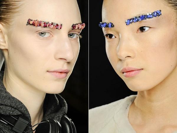 «Ювелирные» брови от Chanel