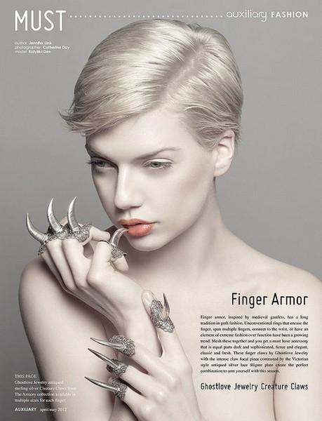 Кольца-когти – женский ответ Росомахе