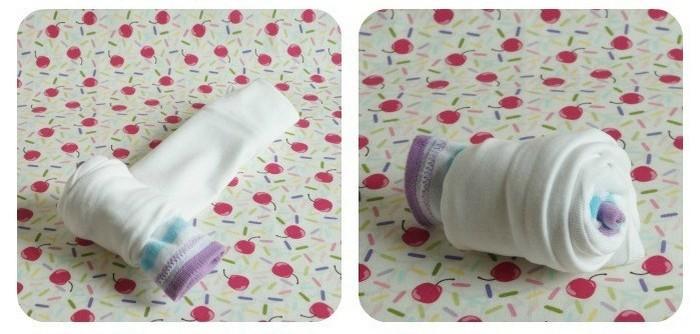 Делаем «кексы» для новорожденного за  5 минут
