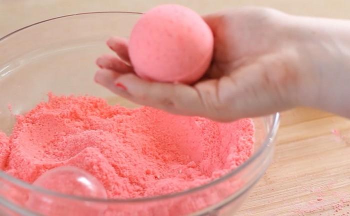 Бомбочка для ванны своими руками без морской соли 85