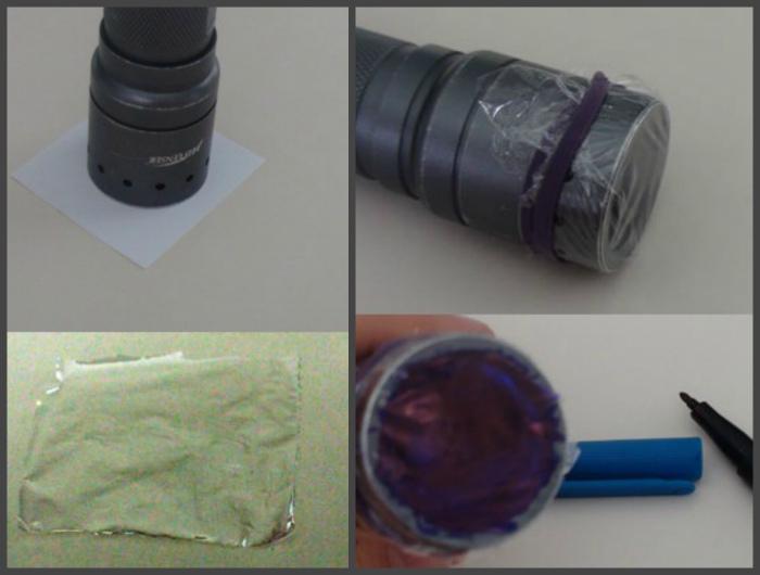 Как сделать ультрафиолетовый фонарик своими руками