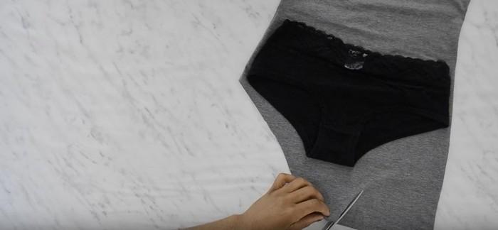 Як зробити модний боді зі звичайної майки