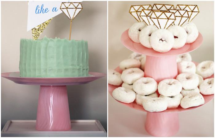 Как сделать шикарную подставку для торта и пирожных за копейки