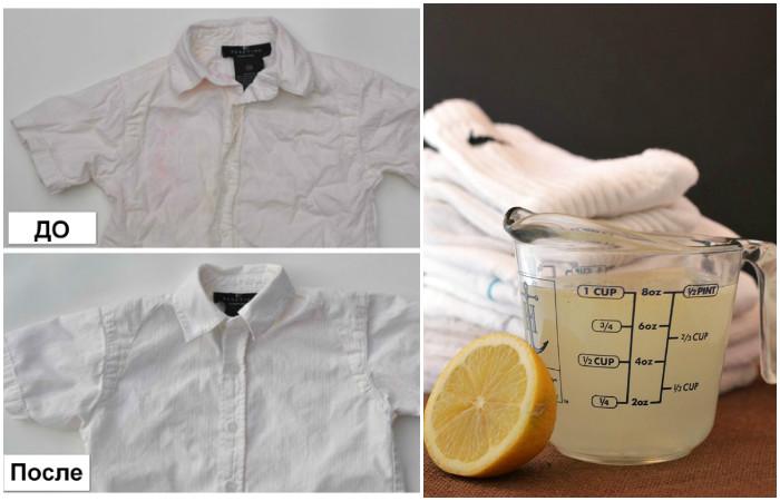 Как сделать безопасный отбеливатель для белья и одежды