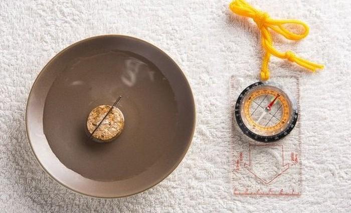 Как сделать компас из подручных материалов