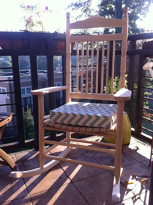 Как обновить сидение для стула или кресла за 10 минут без шитья
