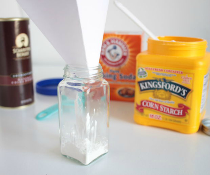 Как сделать сухой шампунь самостоятельно
