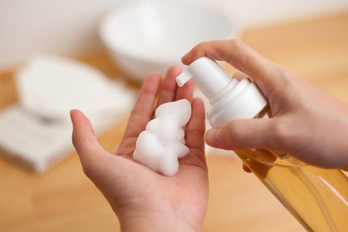 Как просто сделать мыло-пену из обычного мыла