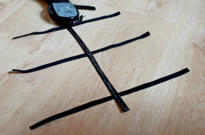 Как сделать модные сандалии-«гладиаторы» за копейки