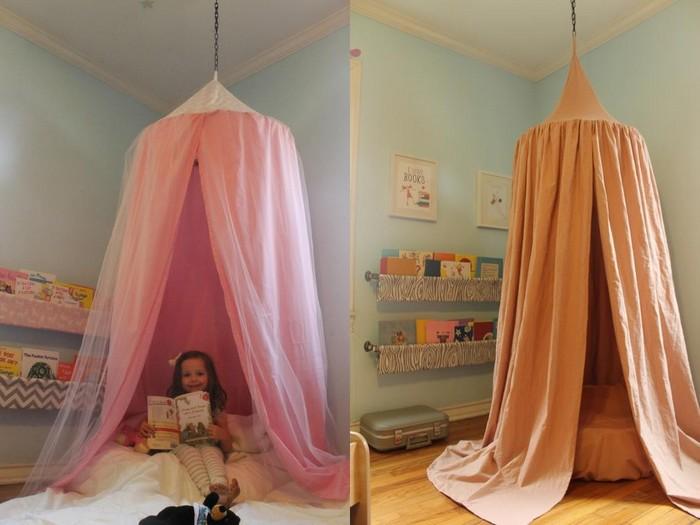 Как сделать шатер в детскую своими руками