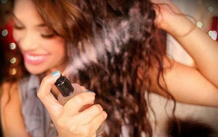 Единственный лак, который не вредит волосам.