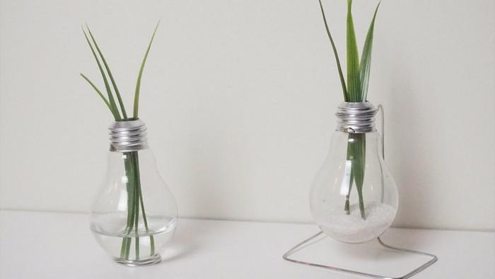Делаем крутую вазу из перегоревшей лампочки