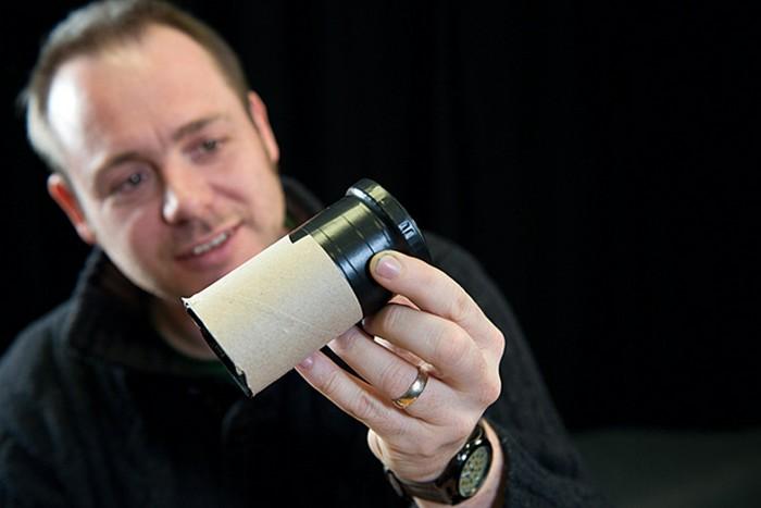 Делаем объектив для макросъёмки по цене рулона туалетной бумаги