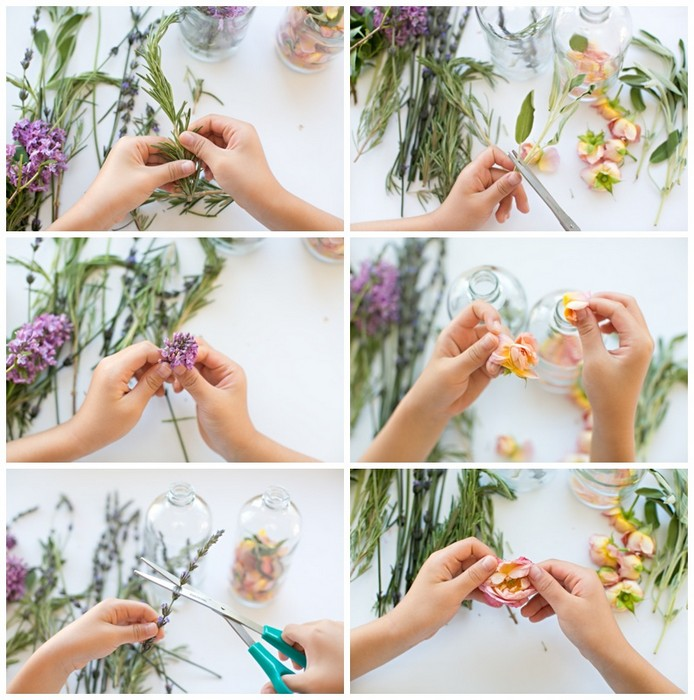 Как сделать полностью натуральный освежитель с потрясающим весенним ароматом