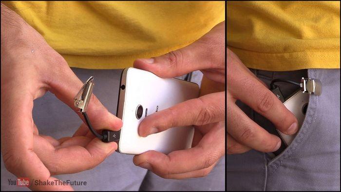 Как никогда не выронить телефон из кармана и защититься от воров-карманников