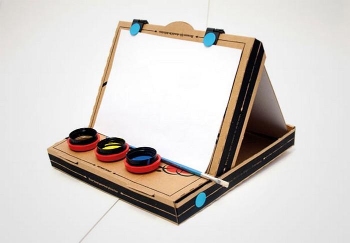 Как сделать планшет для рисования из картона